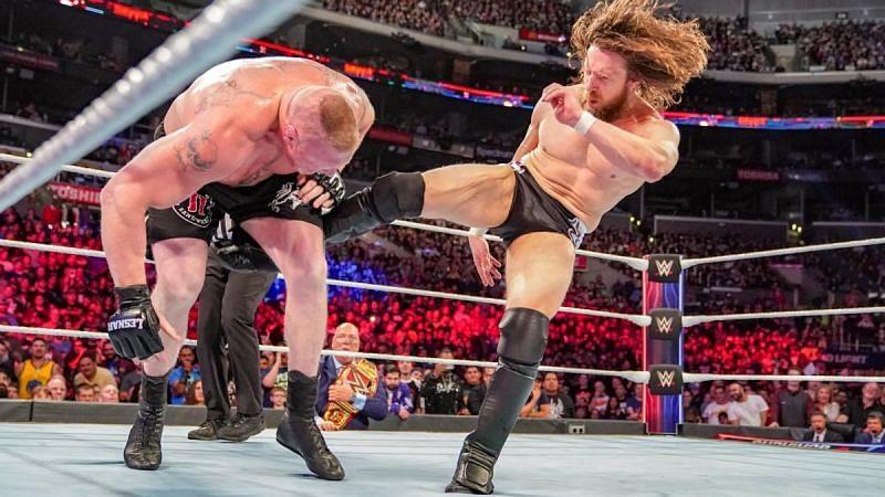 Brock Lesnar and Daniel Bryan