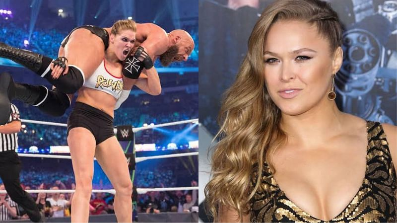 Ronda Rousey had made some controversial comments regarding pro wrestling earlier this year