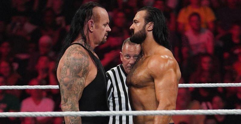 द अंडरटेकर WWE में ड्रू मैकइंटायर का सामना करना चाहते हैं।