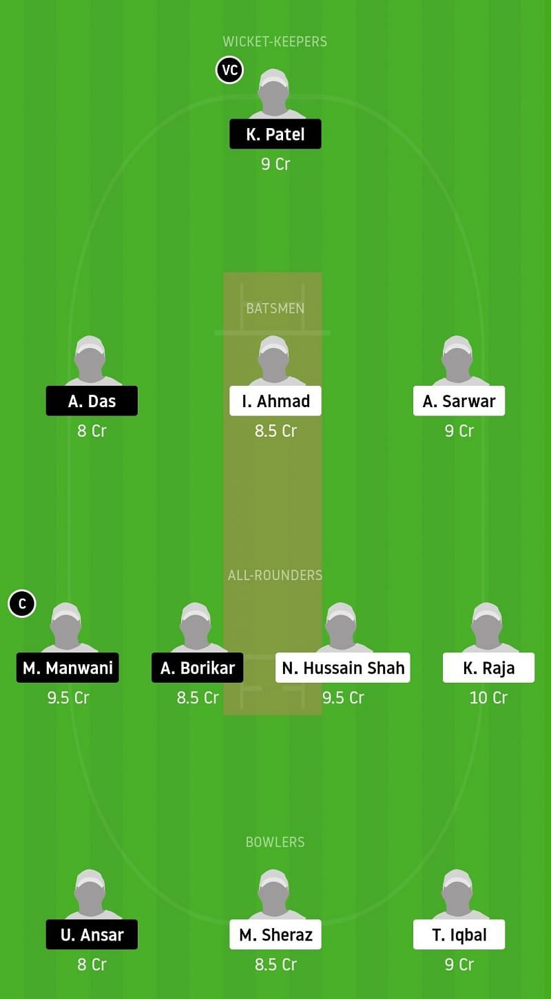 Dream11 Team for FZL vs RSCC - ECS Barcelona, November 2020.