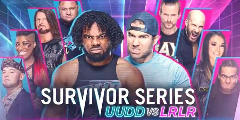 Survivor Series will also see UpUpDownDown led by Xavier Woods take on LeftRightLeftRight led by Tyler Breeze