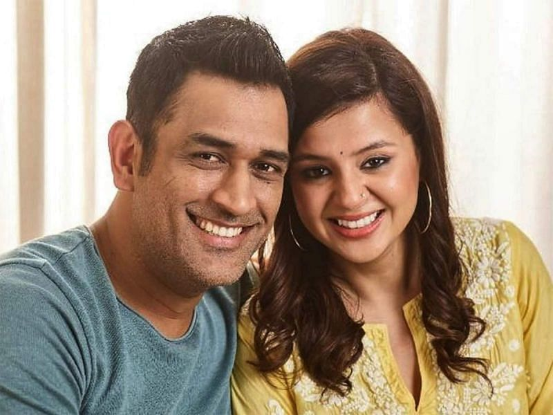 Sakshi and MS Dhoni got married in 2010