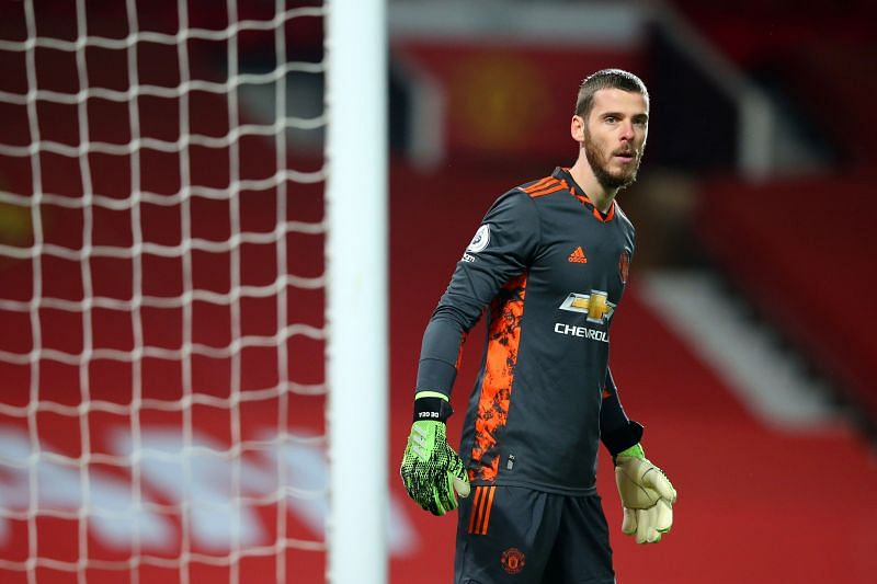 David De Gea had to make a couple of smart saves to help Manchester United keep their clean sheet