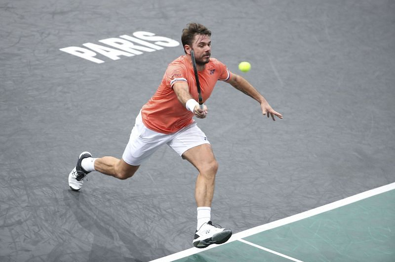 Stan Wawrinka seems to be in the mood at the moment