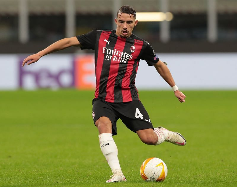 Ismael Bennacer of AC Milan