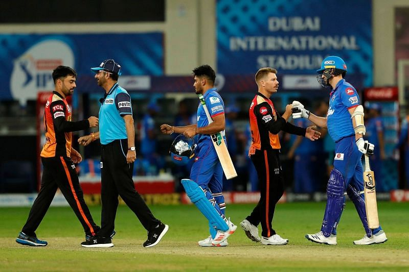 SRH have done a double over DC in IPL 2020 (Credits: IPLT20.com)