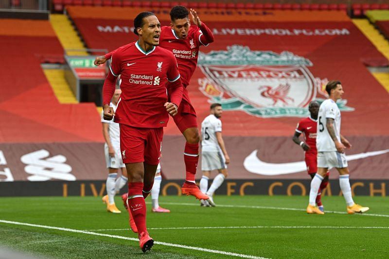 Liverpool colossus Virgil van Dijk