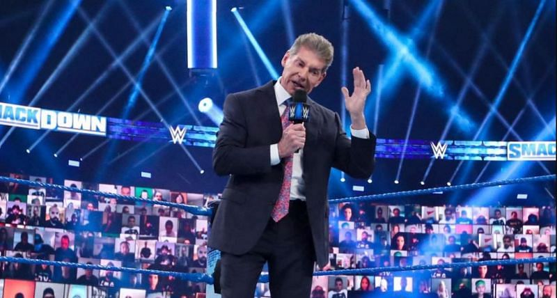 Vince McMahon on SmackDown