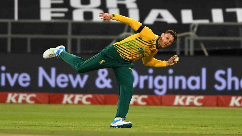 George Linde bowled really well in the 1st T20I.