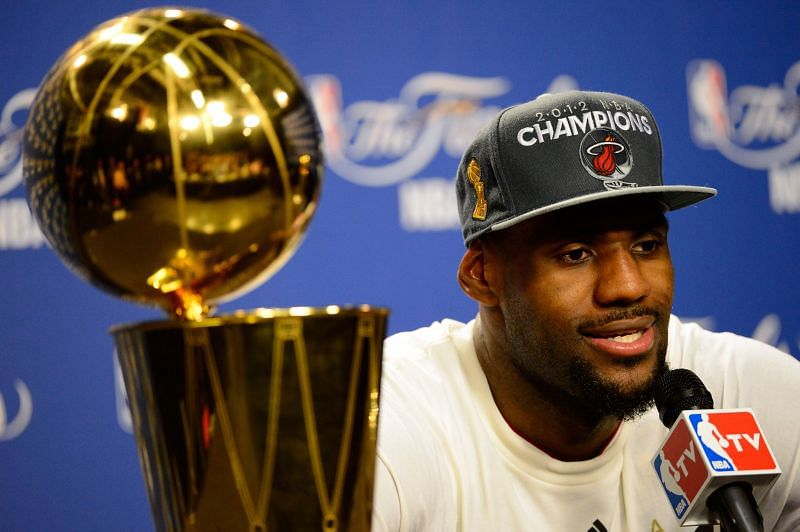 LeBron James dominated Oklahoma City Thunder to win his first NBA title.