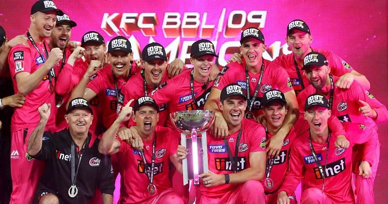 The Sydney Sixers are the current holders of the BBL