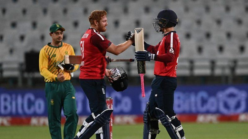 England vs South Africa 2nd T20I. Pic: ICC/Twitter