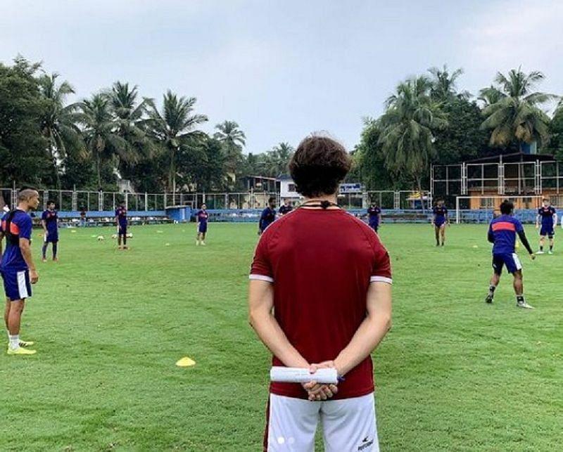 Northeast United FC have halted team preparations ahead of their ISL opener
