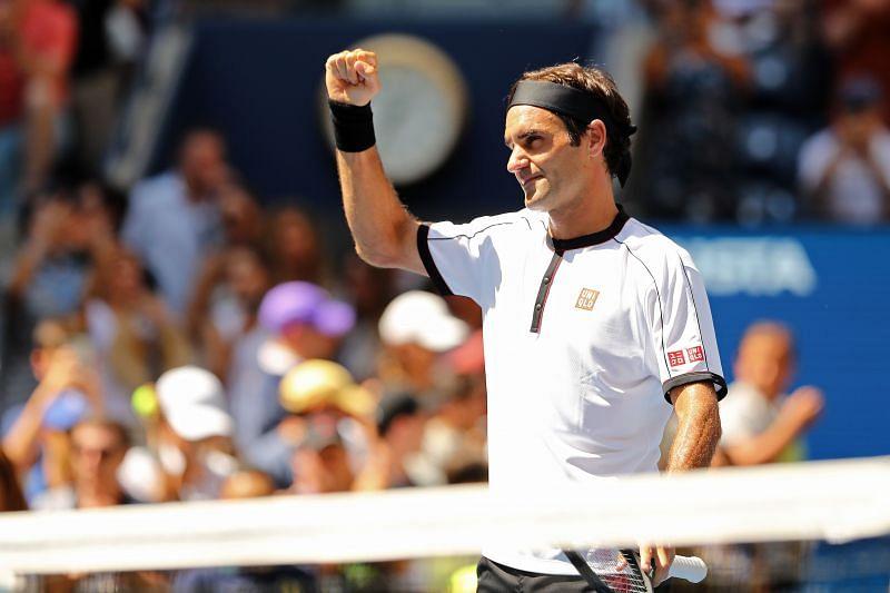 Roger Federer at the 2019 US Open.