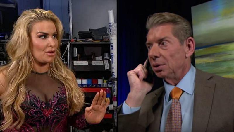 Natalya; Vince McMahon