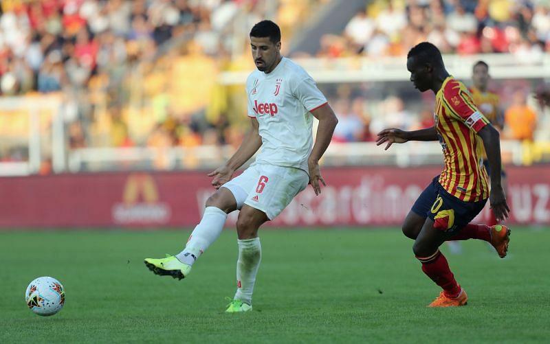 Sami Khedira in action for Juventus