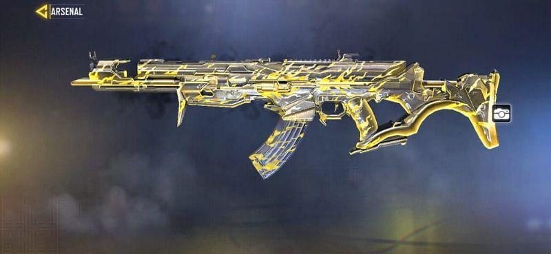 AK-47 Wrath Black & Gold