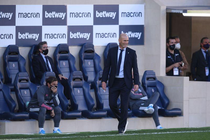 Zinedine Zidane is under pressure after Real Madrid