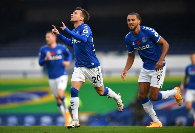 Bernard scored Everton