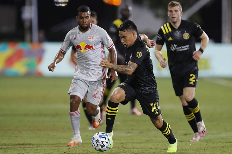 New York Red Bulls take on Columbus Crew this weekend