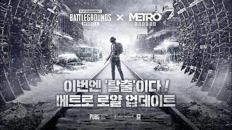 PUBG Mobile Korean (KR) 1.1 Metro Royale update for Android (Image via Google Play Store)