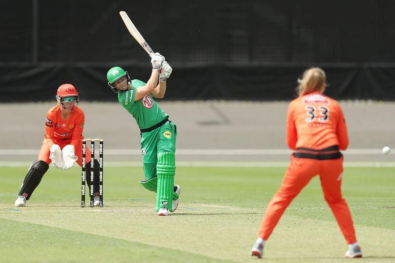 Meg Lanning in action for the Melbourne Stars.