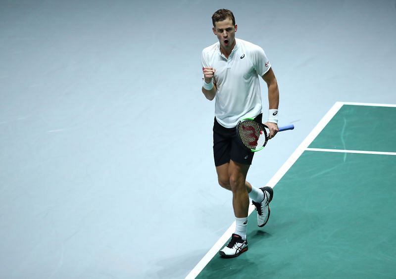 Vasek Pospisil has had his best year on tour in a while