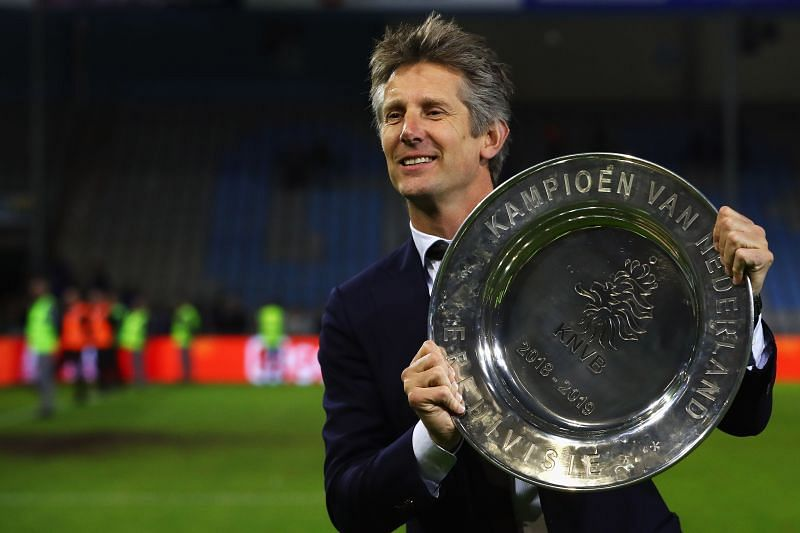 Edwin Van der Sar is a United legend who is still highly regarded at the club