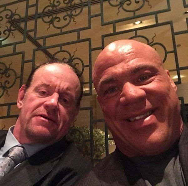 Kurt Angle is set to be a part of The Undertaker