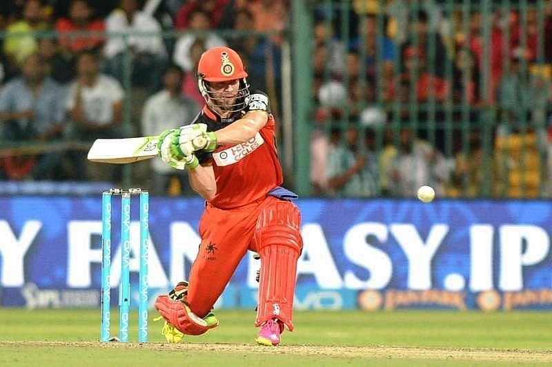 AB de Villiers in action at IPL 2020