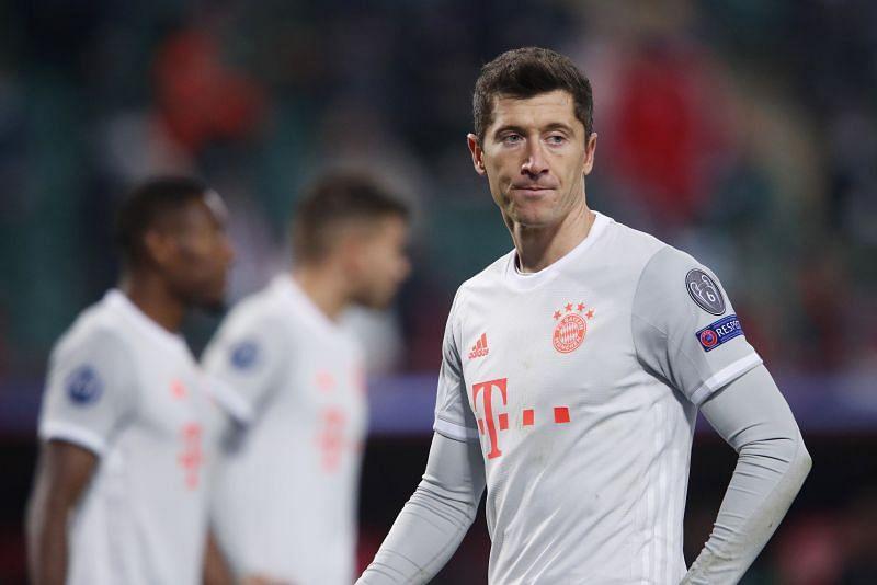 Robert Lewandowski won the treble with Bayern Munich last season