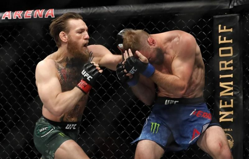 McGregor has only fought in a 40-second bout against Donald Cerrone since October 2018