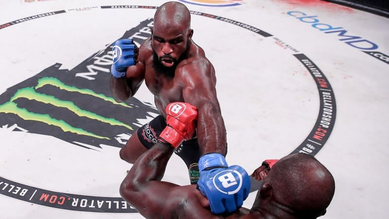 Corey Anderson defeated Melvin Manhoef in impressive fashion at Bellator 251