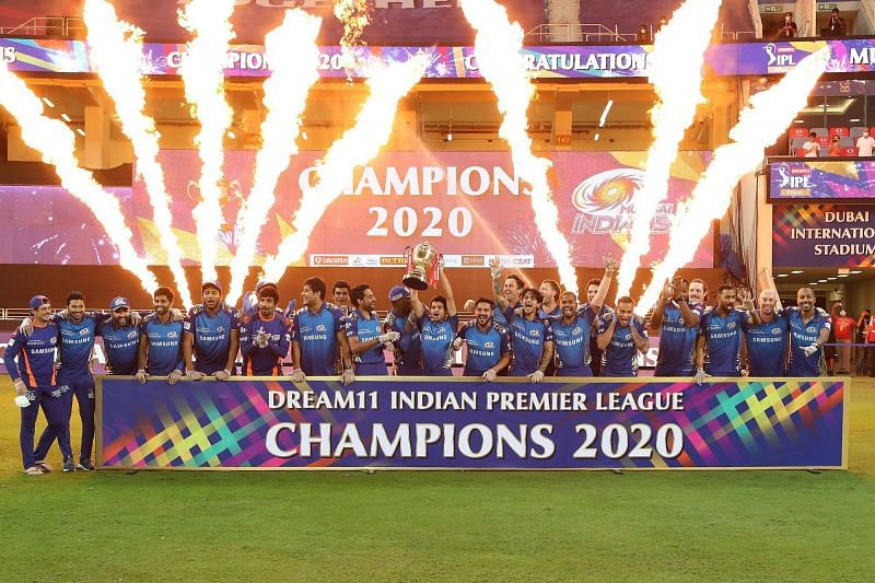 The Mumbai Indians are basking in the glory of their record-extending 5th IPL title [P/C: iplt20.com]