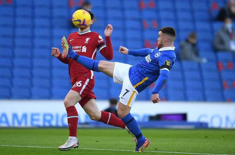 Brighton And Hove Albion 1 1 Liverpool 5 Talking Points As Late Var Drama Sees Merseyside Giants Drop Points Premier League 2020 21