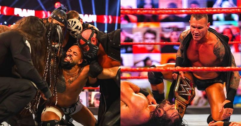 What a crazy night on RAW