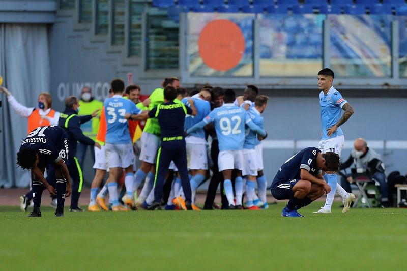 Juventus dropped points against Lazio