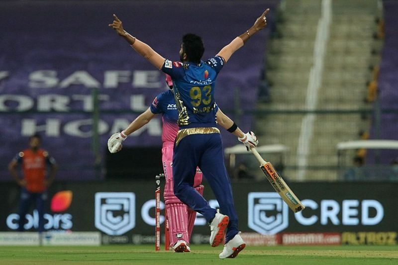 Bumrah picked up 4 wickets against MI