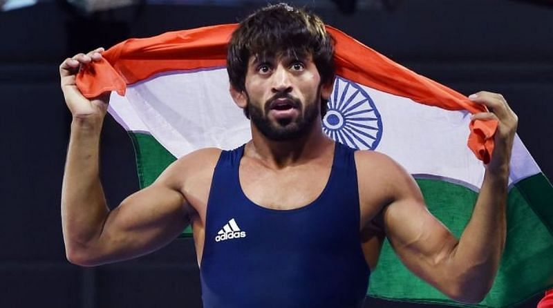 Bajrang Punia secured an Olympic quota last year at the 2019 Wrestling World Championships.