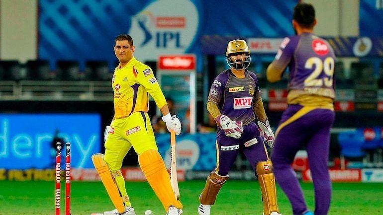 Varun Chakravarthy castled former Indian captain MS Dhoni twice in IPL 2020