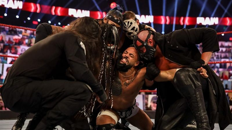 What does RETRIBUTION have planned for Ricochet on WWE RAW?