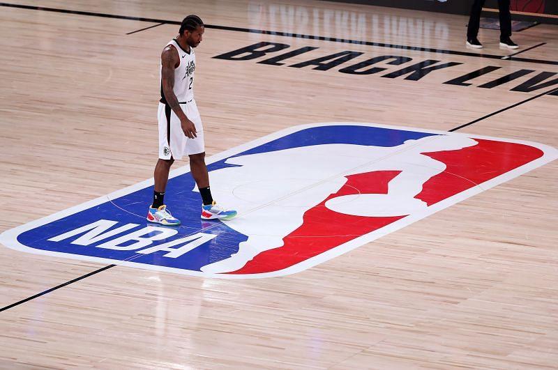 Kawhi Leonard during the LA Clippers