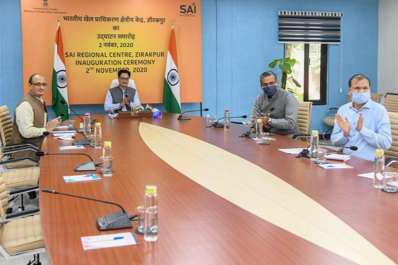 Kiren Rijiju inaugurated the SAI Regional Centre in Zirakpur