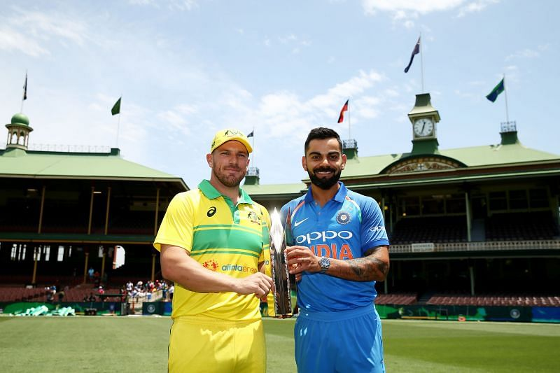 Enter caption The 1st ODI between India and Australia is scheduled on 27th November 2020
