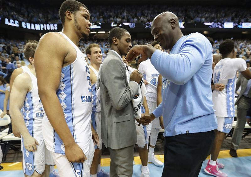 Michael Jordan played three years at North Carolina.
