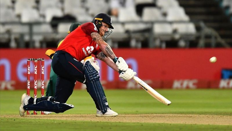 Stokes played a crucial knock for England against South Africa.
