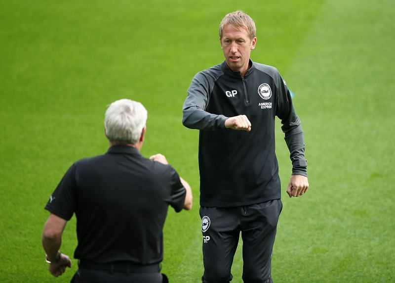 Could Graham Potter soon find himself in trouble at Brighton?