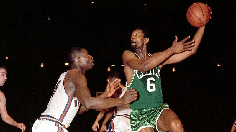 Bill Russell is one of the greatest players in NBA history.