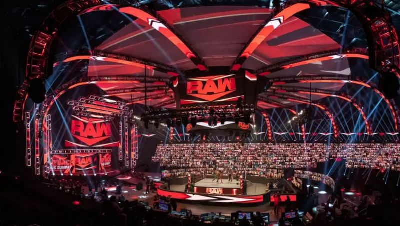 Vince McMahon presented WWE ThunderDome to the audience by opening the first show that took place in the innovative WWE arena