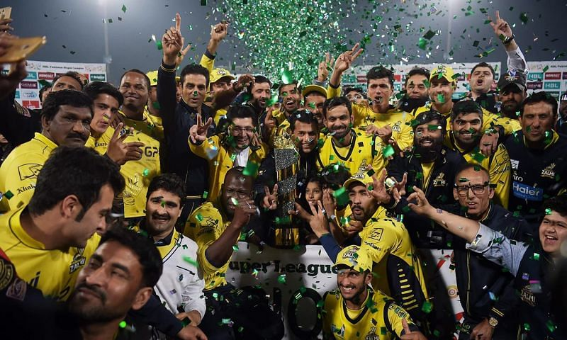 A one-sided contest saw Peshawar Zalmi lift the PSL 2017 crown